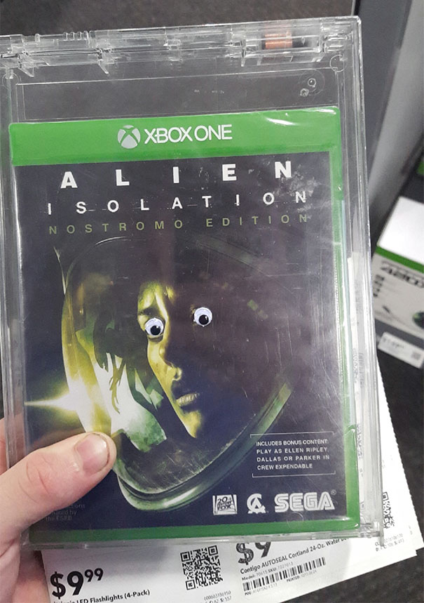 Came Across This While Stocking The Gaming Department.